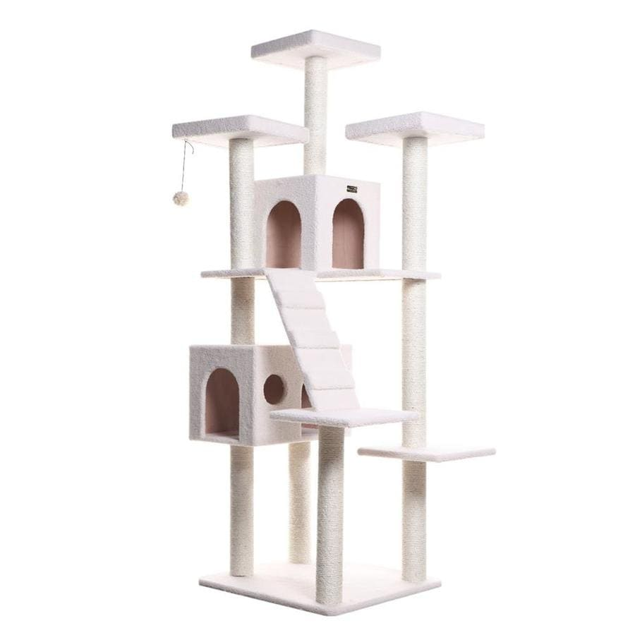 Armarkat 77-in Fleece 8-Level Cat Tree