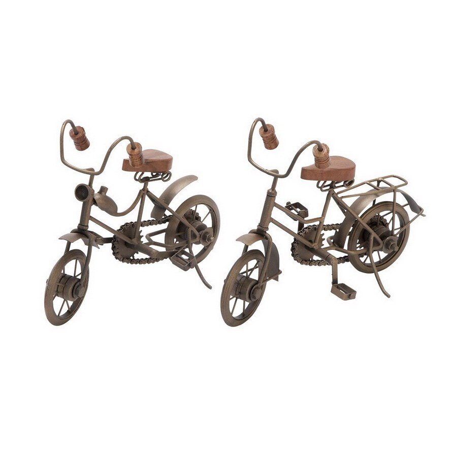 Woodland Imports Rust Free Premium Grade Metal Alloy Cycle