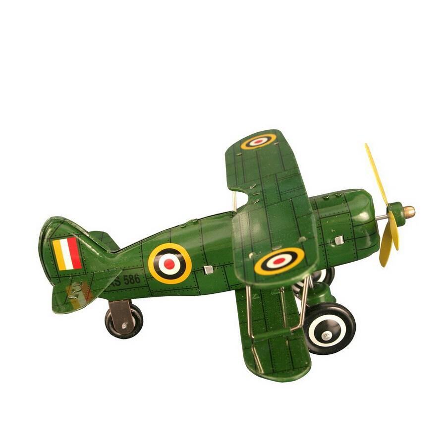 Alexander Taron Tin Wind-Up Biplane