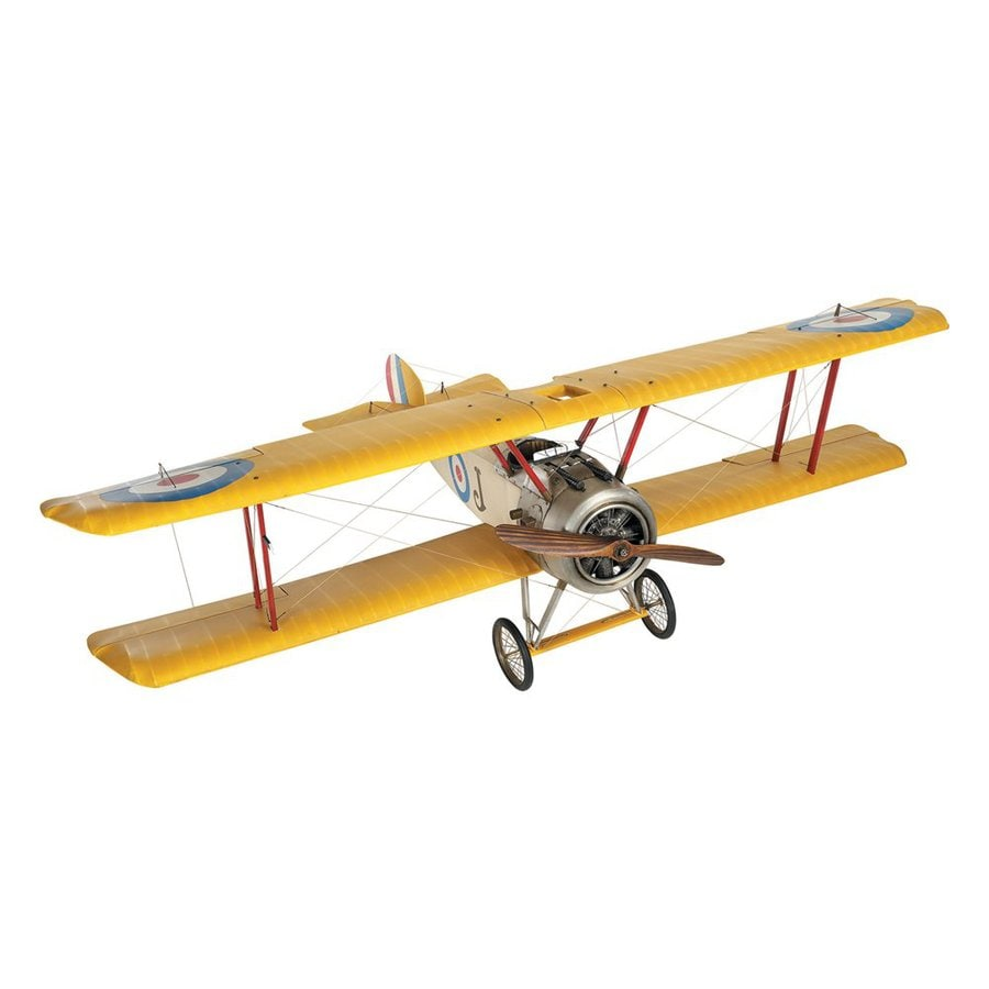Authentic Models Wood, Metal and Fabric Sopwith Camel Biplane Replica