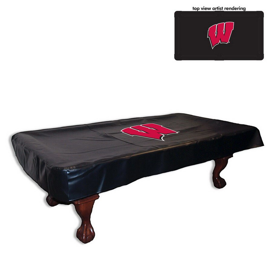 Holland 9-ft Wisconsin Badgers Billiard Table Cover