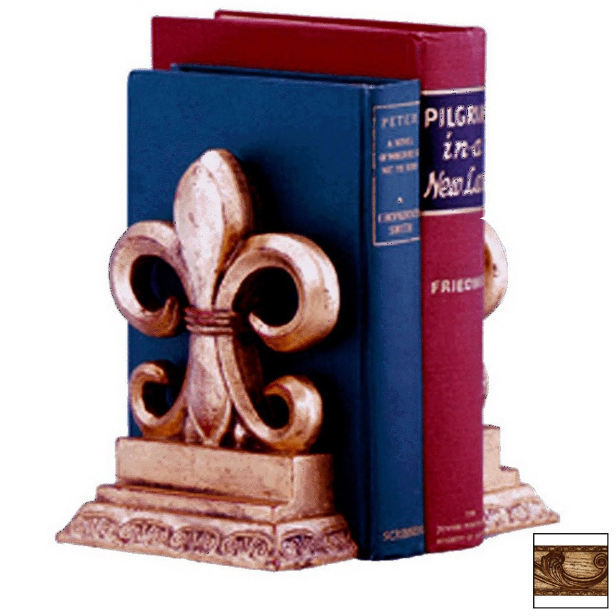 Hickory Manor House Pair Resin Bookends