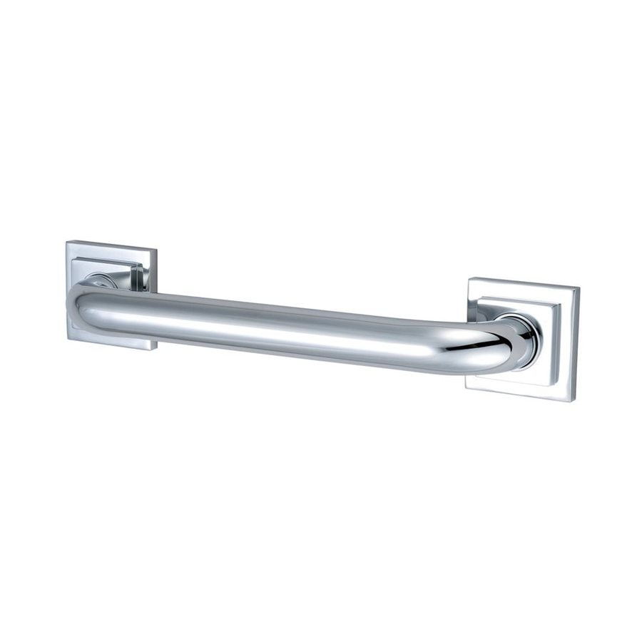 Elements of Design 16-in Chrome Wall Mount Grab Bar