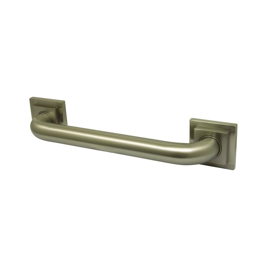Elements of Design 16-in Satin Nickel Wall Mount Grab Bar