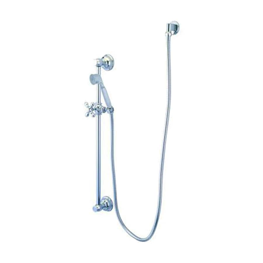 Elements of Design Restoration 2.5-in 2.2-GPM (8.3-LPM) Polished Chrome 1-Spray Hand Shower