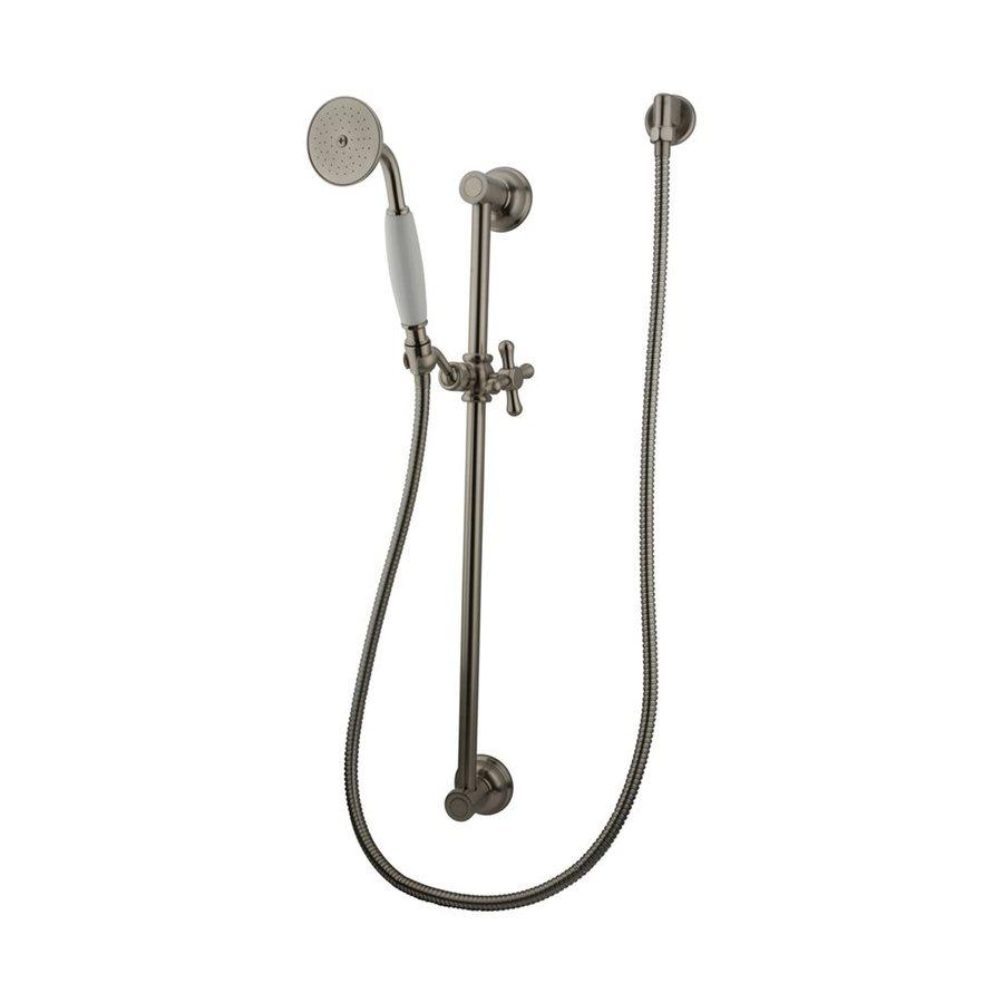 Elements of Design Victorian 2.75-in 2.2-GPM (8.3-LPM) Satin Nickel 1-Spray Hand Shower