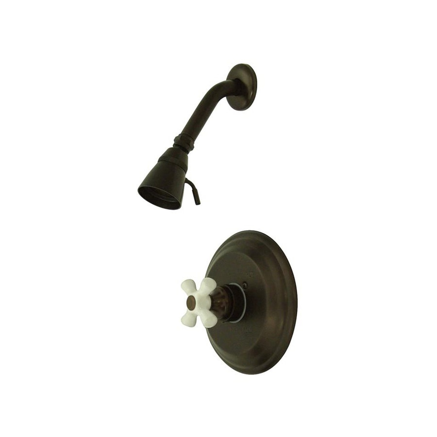 Elements of Design St. Louis 2.25-in 2.5-GPM (9.5-LPM) Oil-Rubbed Bronze Showerhead