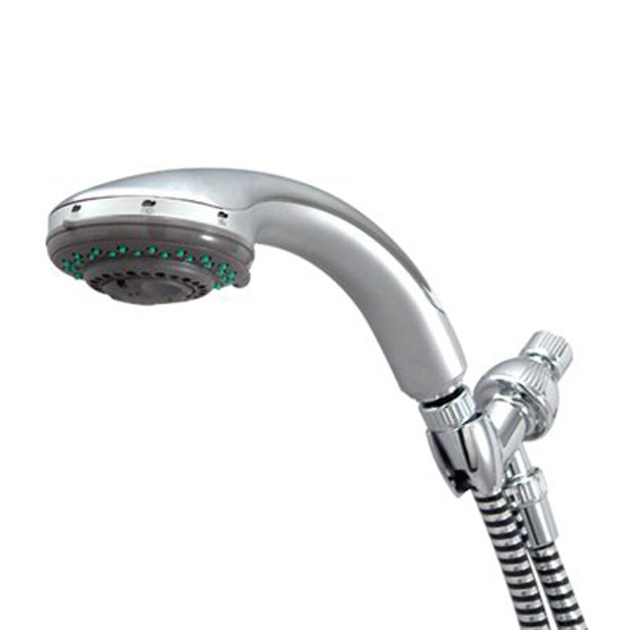 Elements of Design Vilbosch 3.25-in 2.2-GPM (8.3-LPM) Polished Chrome/Stainless Steel 5-Spray Hand Shower