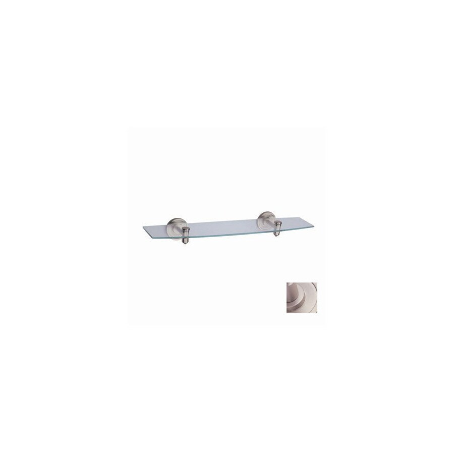 DVI Dominion Satin Nickel Metal Bathroom Shelf