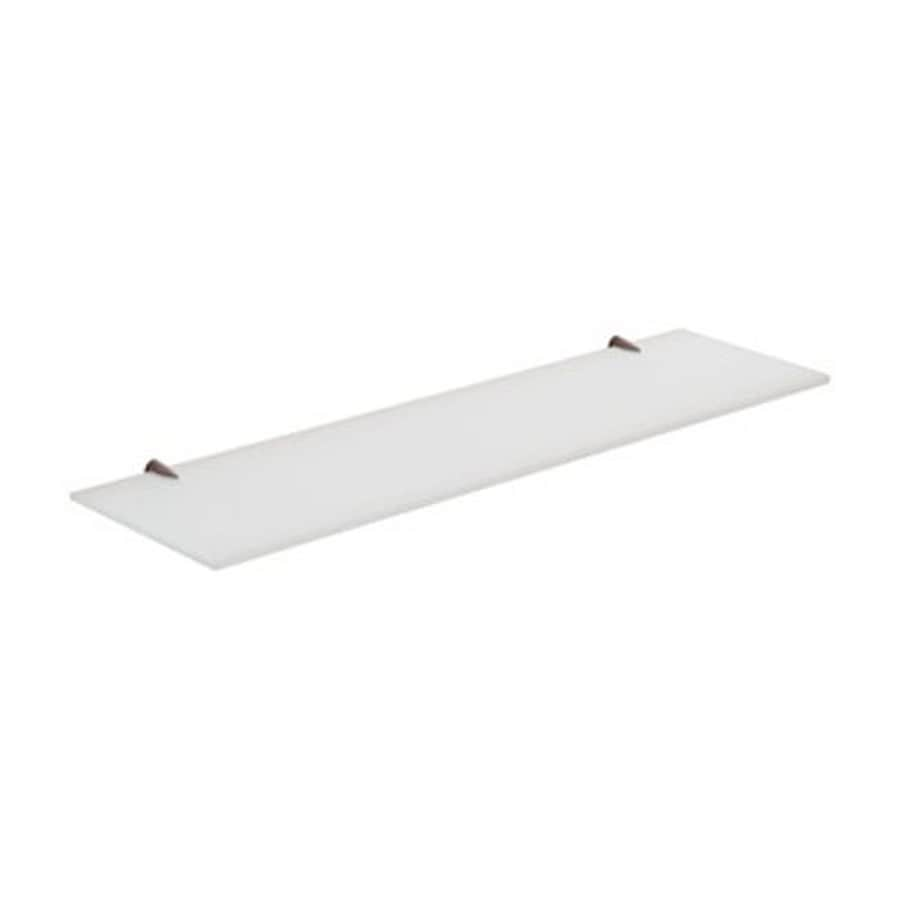 Shop nameeks gedy shelves frosted glass bathroom shelf at for Bathroom glass shelves