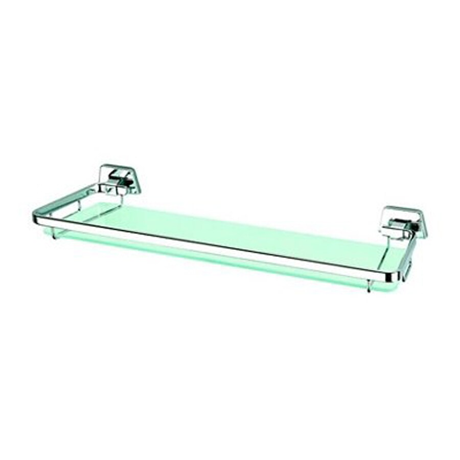 Nameeks Standard Hotel Chrome Glass Bathroom Shelf
