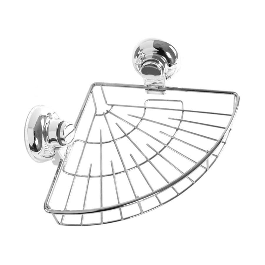 Nameeks 3.94-in H Suction Cup Plastic Hanging Shower Caddy