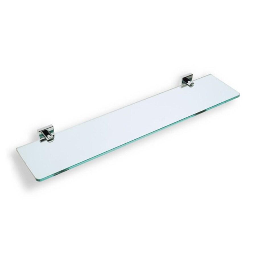 Nameeks Urania Chrome Glass Bathroom Shelf