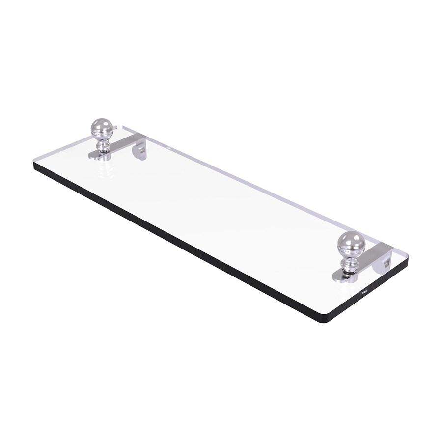 Allied Brass Prestige Regal Satin Chrome Brass Bathroom Shelf