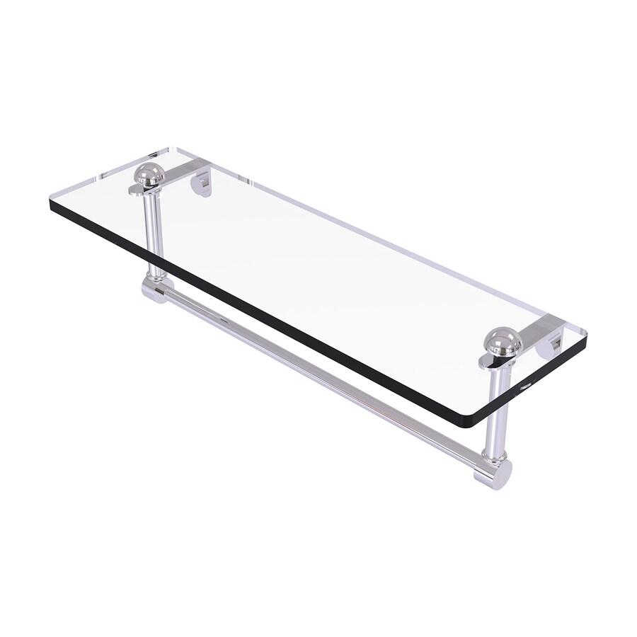 Allied Brass Prestige Regal Polished Chrome Brass Bathroom Shelf