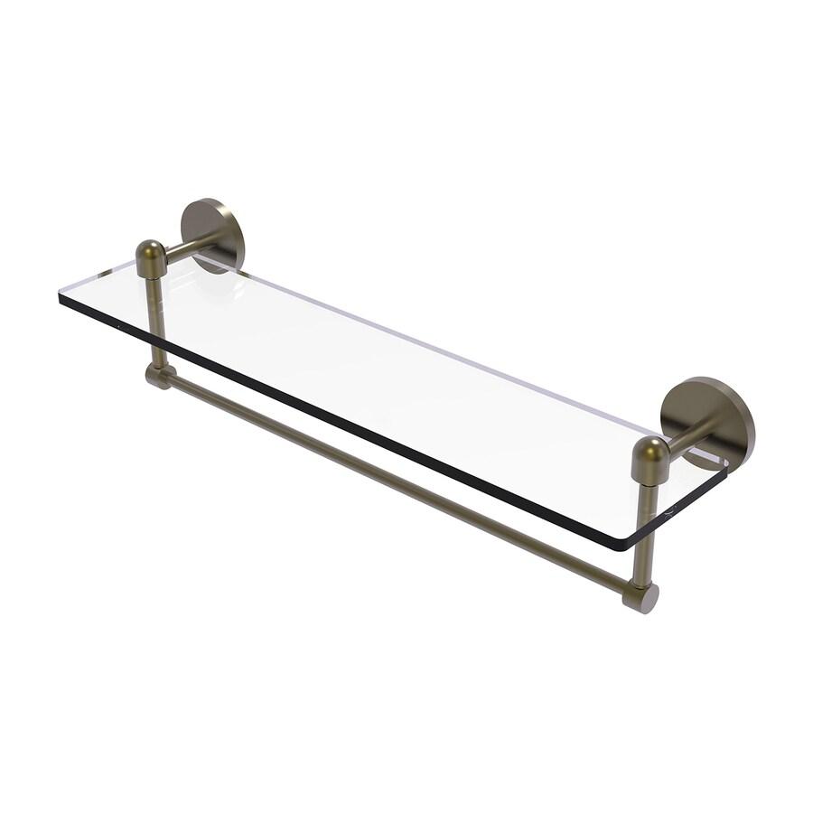 Allied Brass Tango Satin Brass Brass Bathroom Shelf