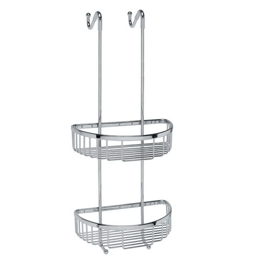 WS Bath Collections 21-3/4-in H Over The Door Hanging Shower Caddy