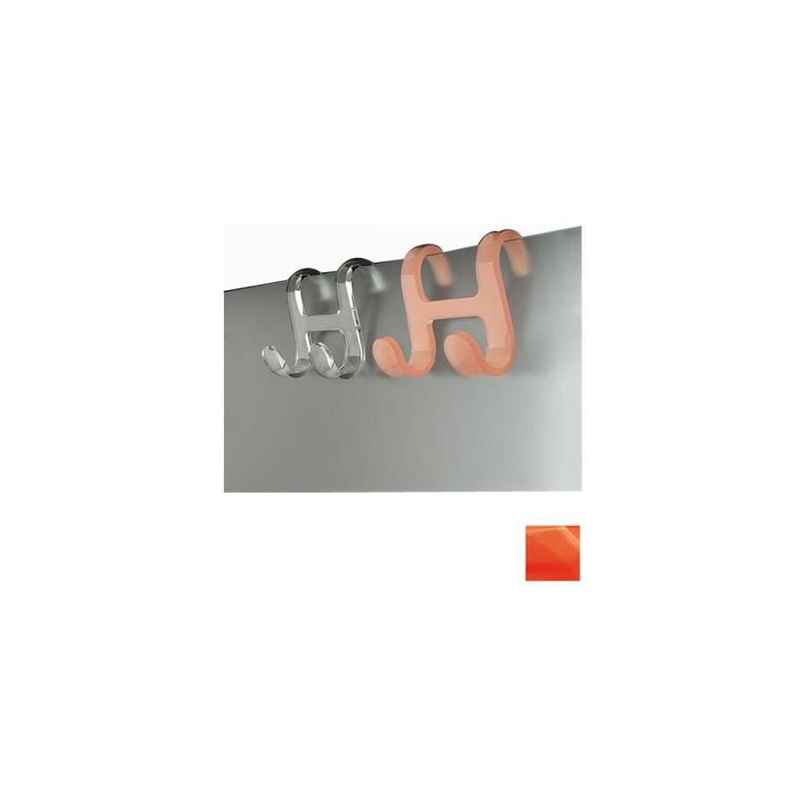 Nameeks Trasparenze 2-Hook Orange Robe Hook