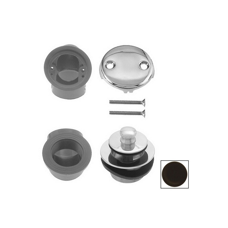 Westbrass Oil Rubbed Bronze Pull and Drain Plumbers Pack