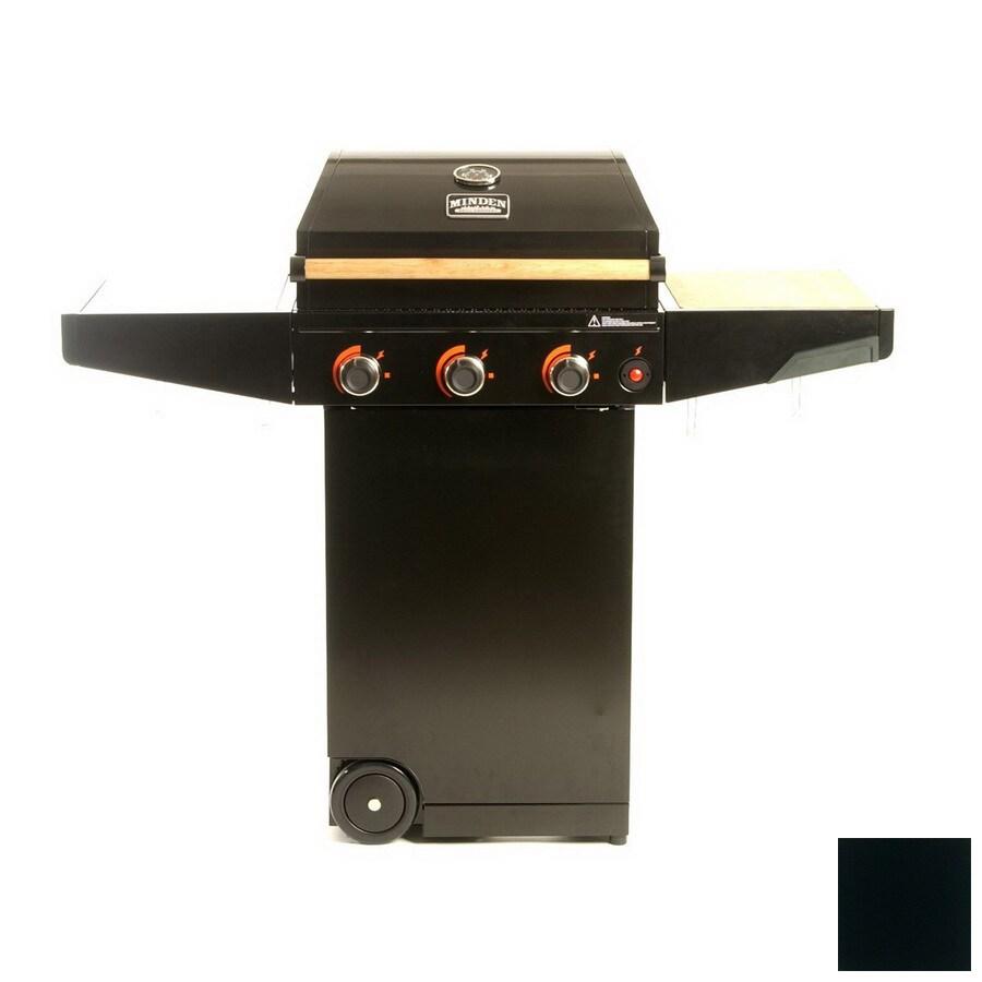 Minden 3-Burner (30,000-BTU) Liquid Propane Gas Grill