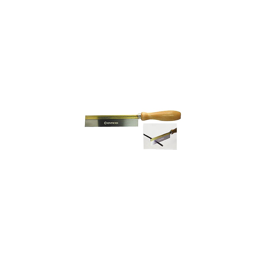 Gyros Tempered Steel Brass Back Razor Hand Saw