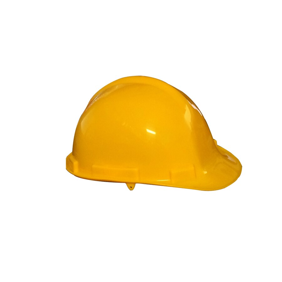 Morris Products Quick Adjusting Ratcheting Yellow Hard Hat