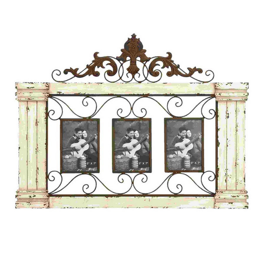 Woodland Imports 3-in x 1.91-ft x 1-in Interior Classic Style Wooden Wall Picture Frame Accent