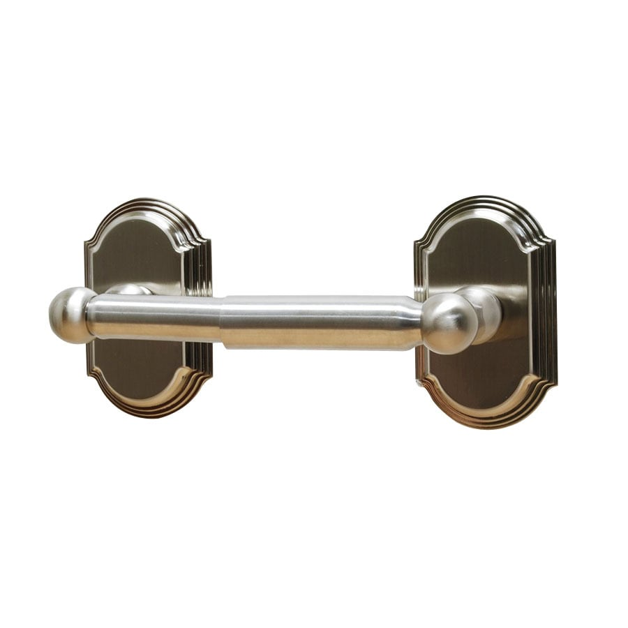 Residential Essentials Ridgeview Satin Nickel Surface Mount Toilet Paper Holder
