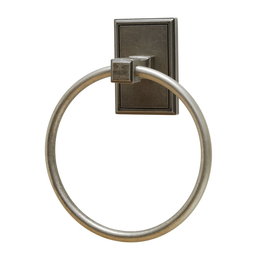 Residential Essentials Hamilton Aged Pewter Wall-Mount Towel Ring