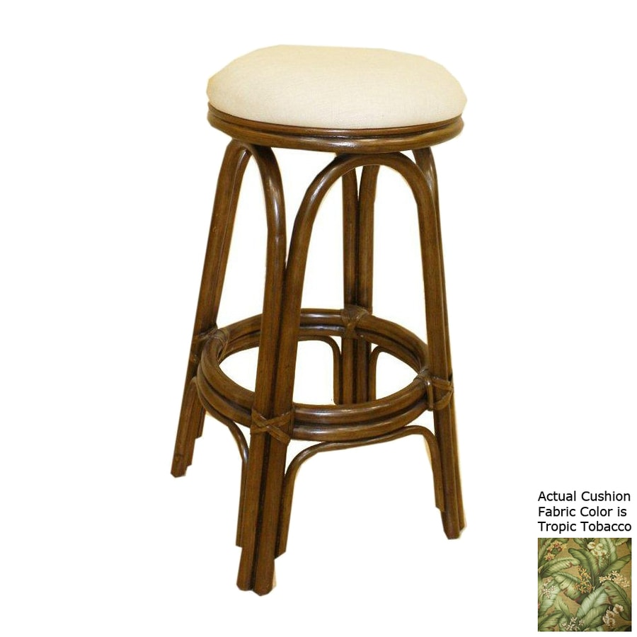 Hospitality Rattan Carmen Antique 23-in Counter Stool