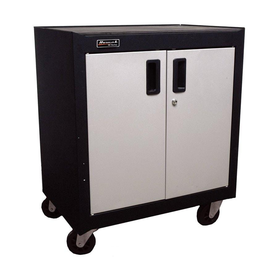 Homak 26.875-in W x 31-in H x 18-in D Steel Freestanding Garage Cabinet