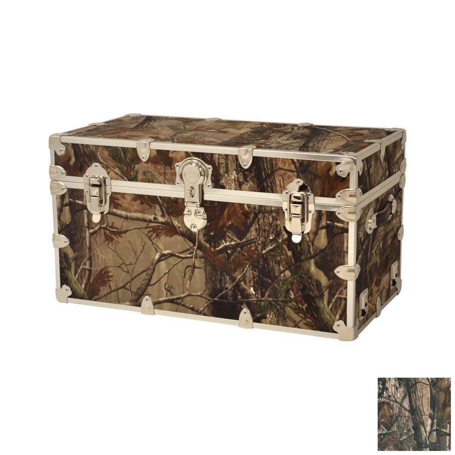 Phat Tommy Toy Box Real Tree Camo Rectangular Toy Box