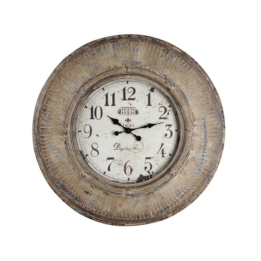 Cooper Classics Kensington Analog Round Indoor Wall Standard Clock