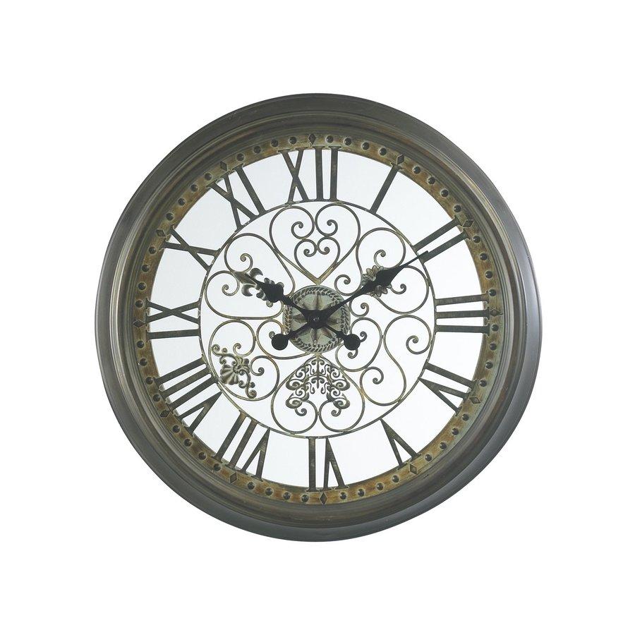 Cooper Classics Marlow Analog Round Indoor Wall Standard Clock