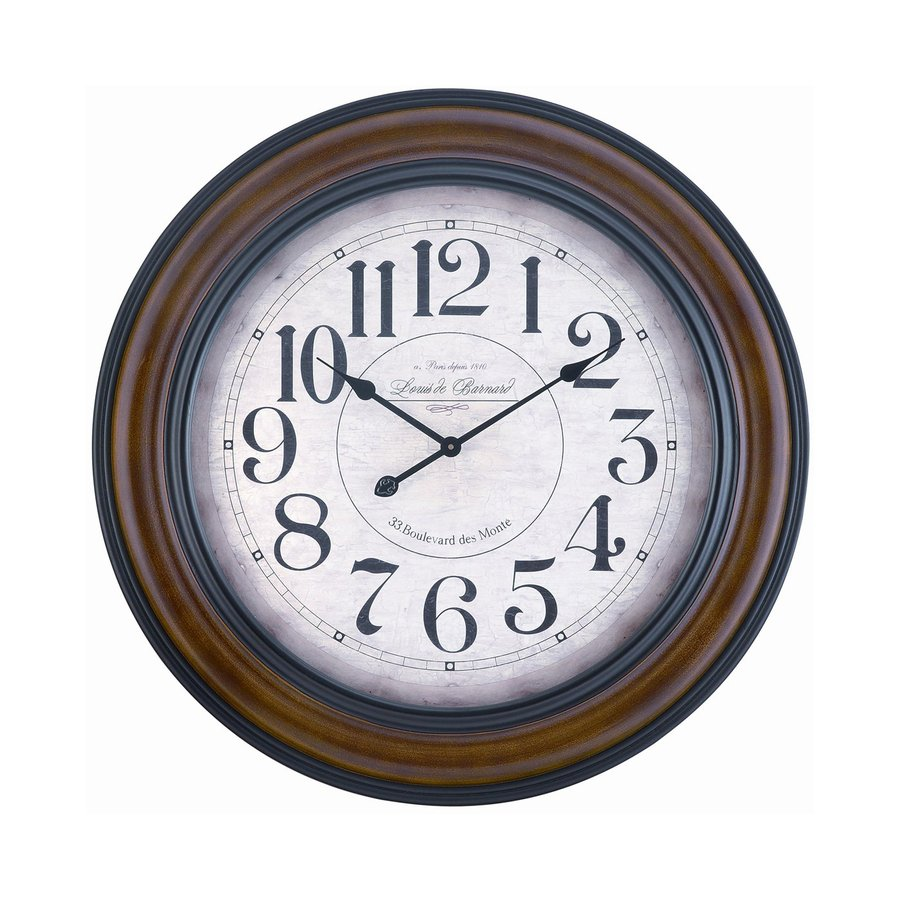 Cooper Classics Payton Analog Round Indoor Wall Clock