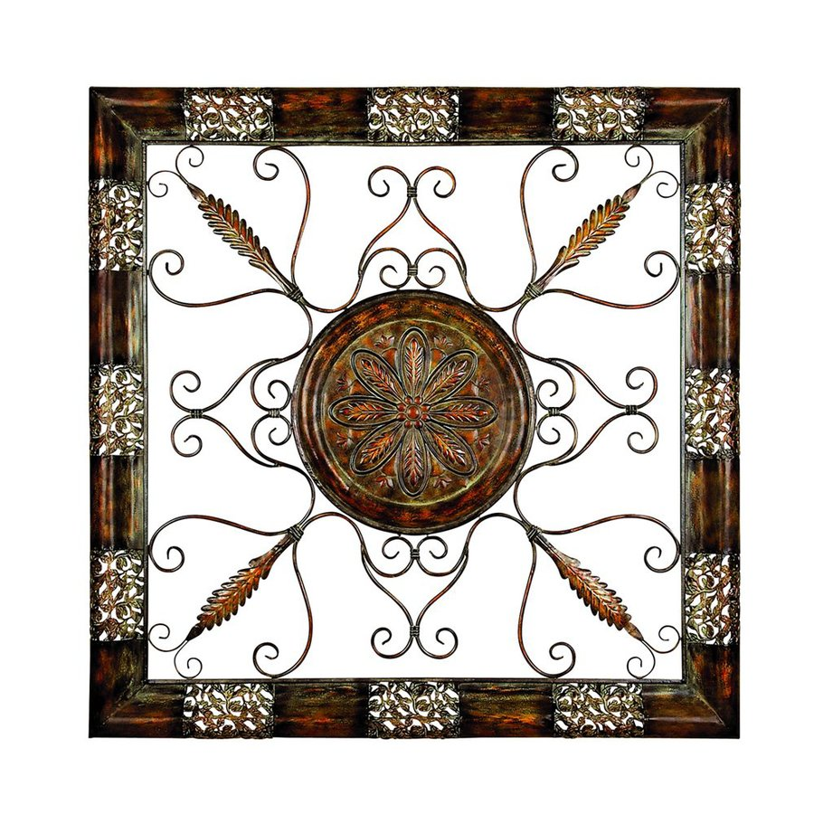 Shop Woodland Imports 45 In W X 45 In H Framed Metal