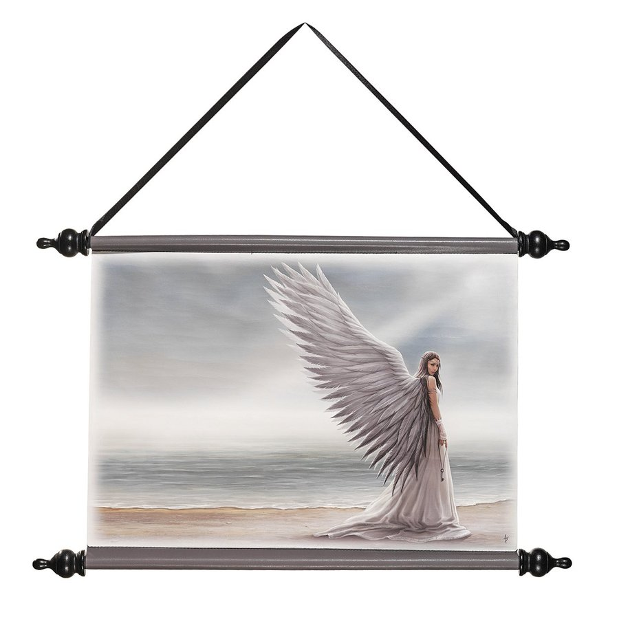 Design Toscano 22.5-in W x 14.5-in H Frameless Canvas Spirit Guide Print Wall Art