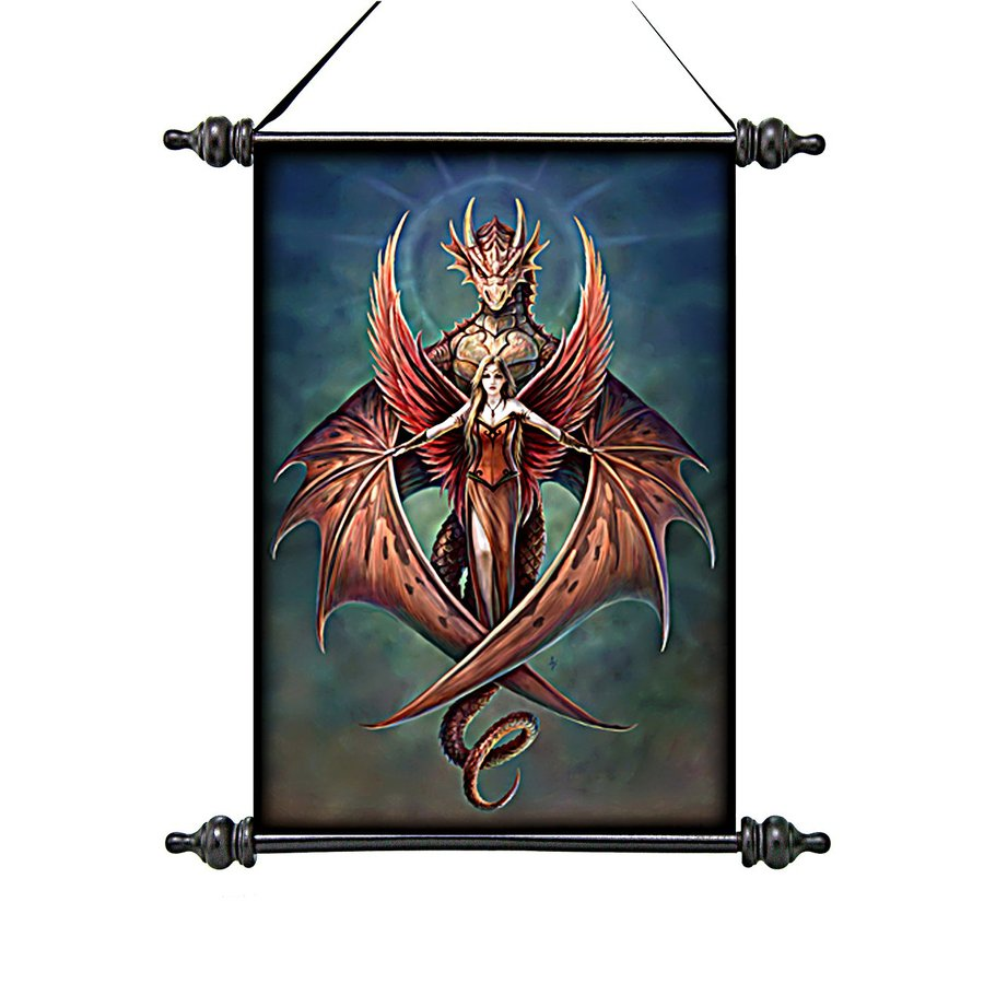 Design Toscano 13-in W x 18-in H Frameless Canvas Copperwings Fairy Print Wall Art