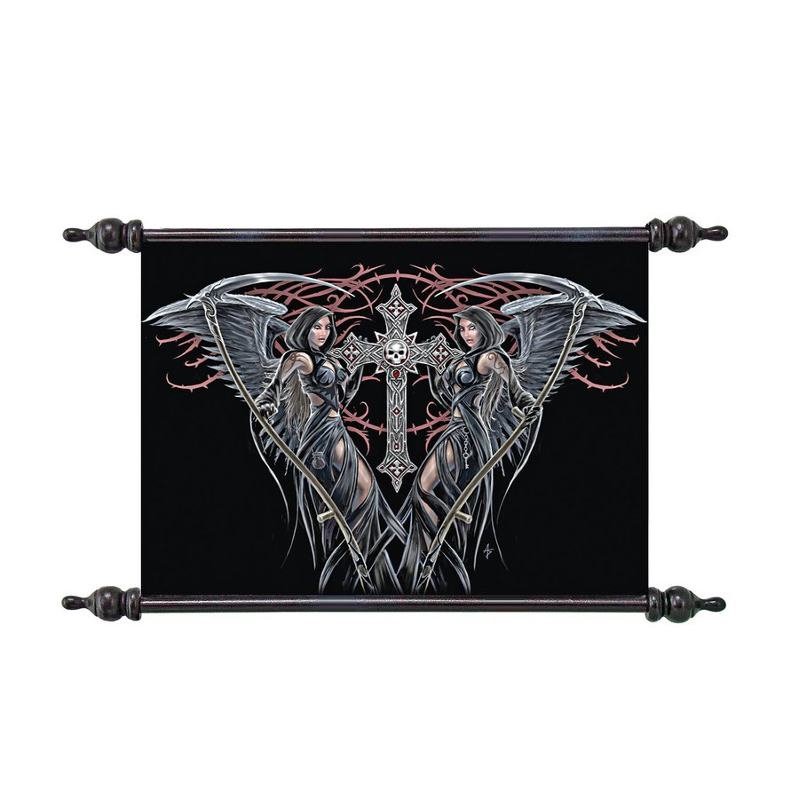 Design Toscano 22.5-in W x 14.5-in H Frameless Canvas Angels Of Death Print Wall Art