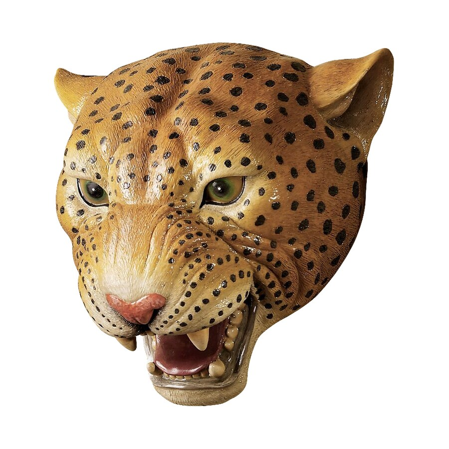 Design Toscano 10.5-in W x 10-in H Frameless Resin Jungle Predator Sculpture Wall Art