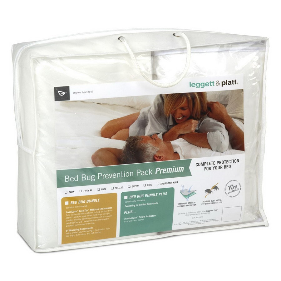 Leggett & Platt Polyester Full Mattress or Box Spring Cover with Bed Bug Protection