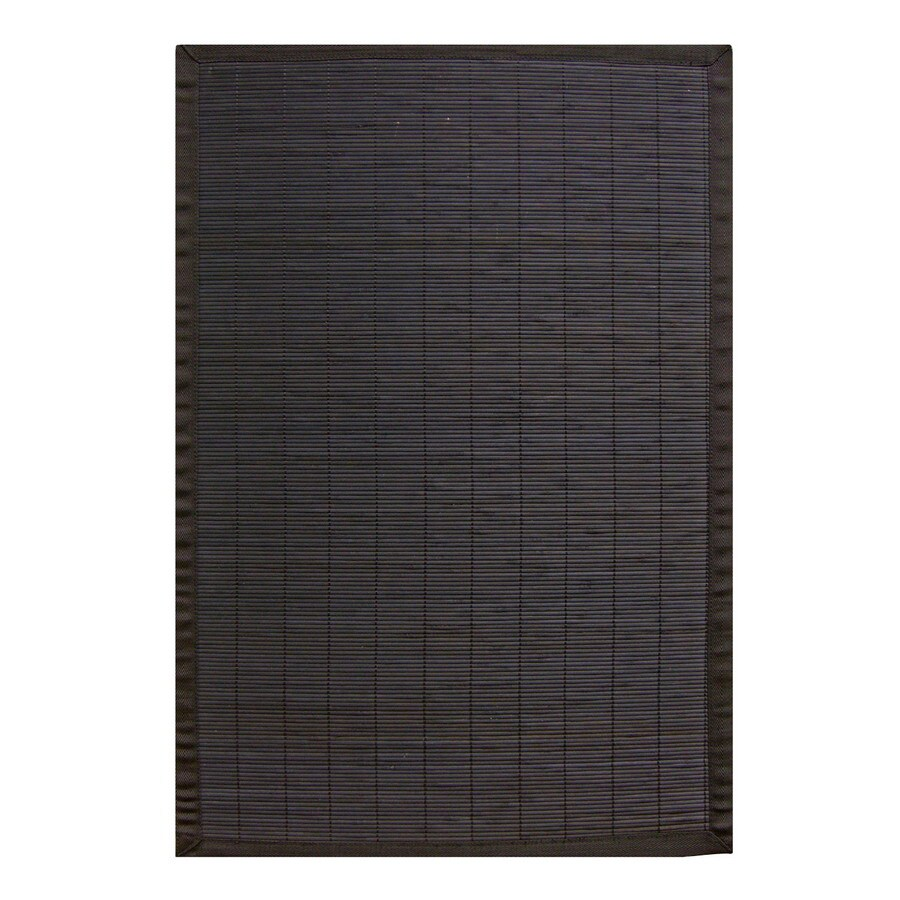 Anji Mountain Bamboo Rugs Rectangular Indoor Woven Throw Rug (Common: 2 x 3; Actual: 24-in W x 36-in L x Dia)