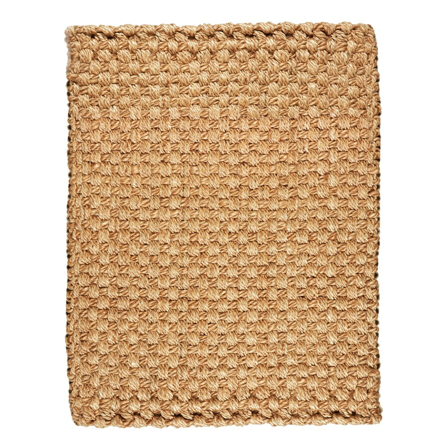 Anji Mountain Brown Rectangular Indoor Woven Oriental Area Rug (Common: 8 x 10; Actual: 96-in W x 120-in L)