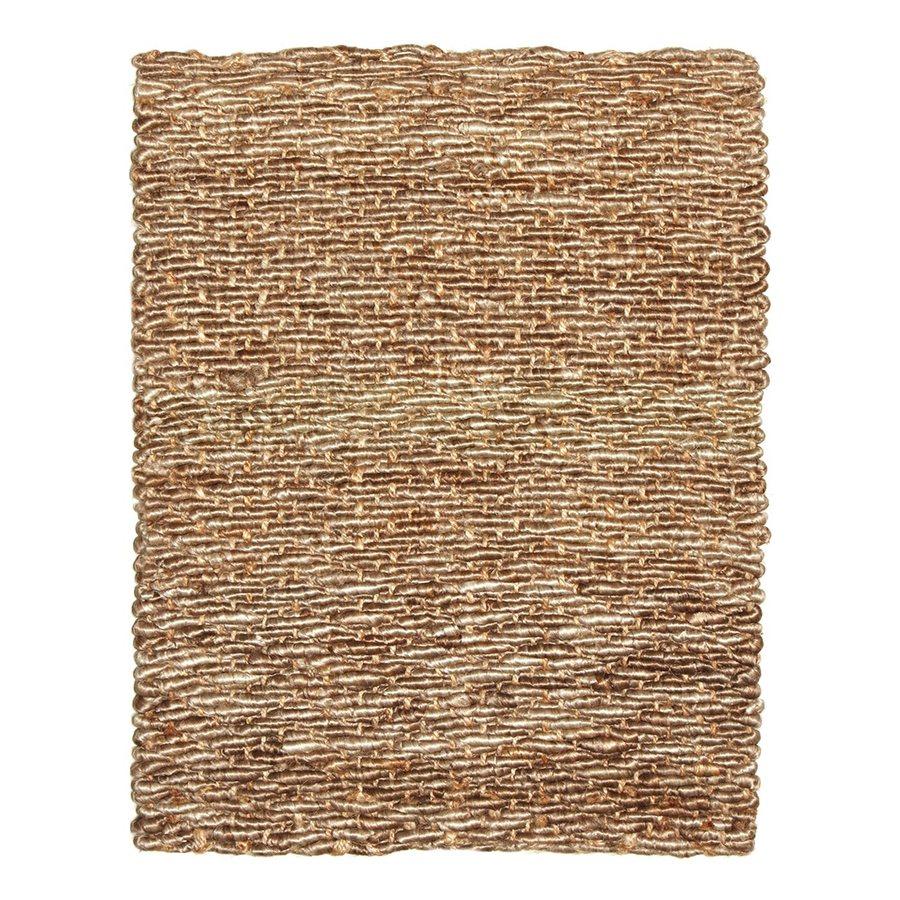 Anji Mountain Beige Rectangular Indoor Woven Oriental Area Rug (Common: 8 x 10; Actual: 96-in W x 120-in L)