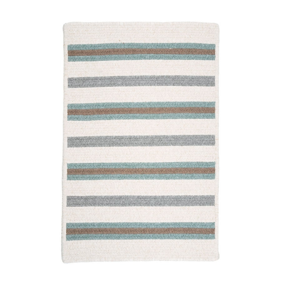 Colonial Mills Allure Square Multicolor Geometric Area Rug (Common: 4-ft x 4-ft; Actual: 4-ft x 4-ft)