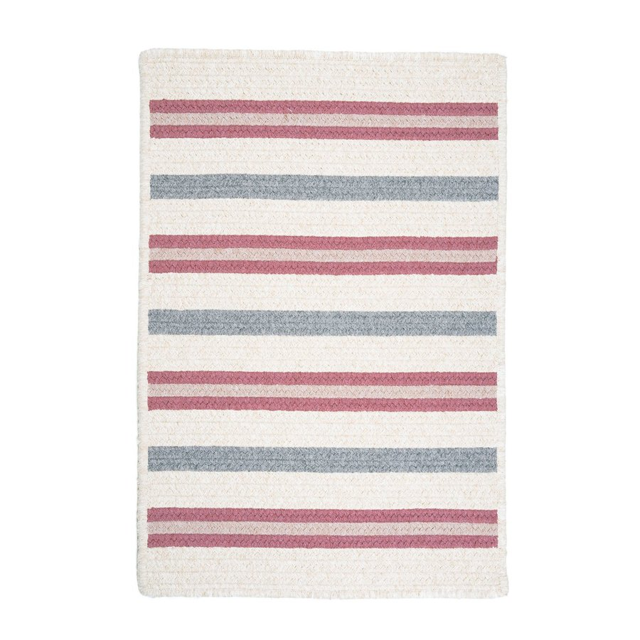 Colonial Mills Allure Mauveberry Rectangular Indoor Braided Throw Rug (Common: 2 x 3; Actual: 24-in W x 36-in L)