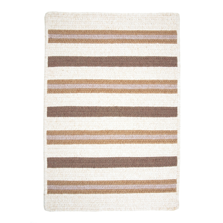 Colonial Mills Allure Haystack Rectangular Indoor Braided Throw Rug (Common: 2 x 3; Actual: 24-in W x 36-in L)