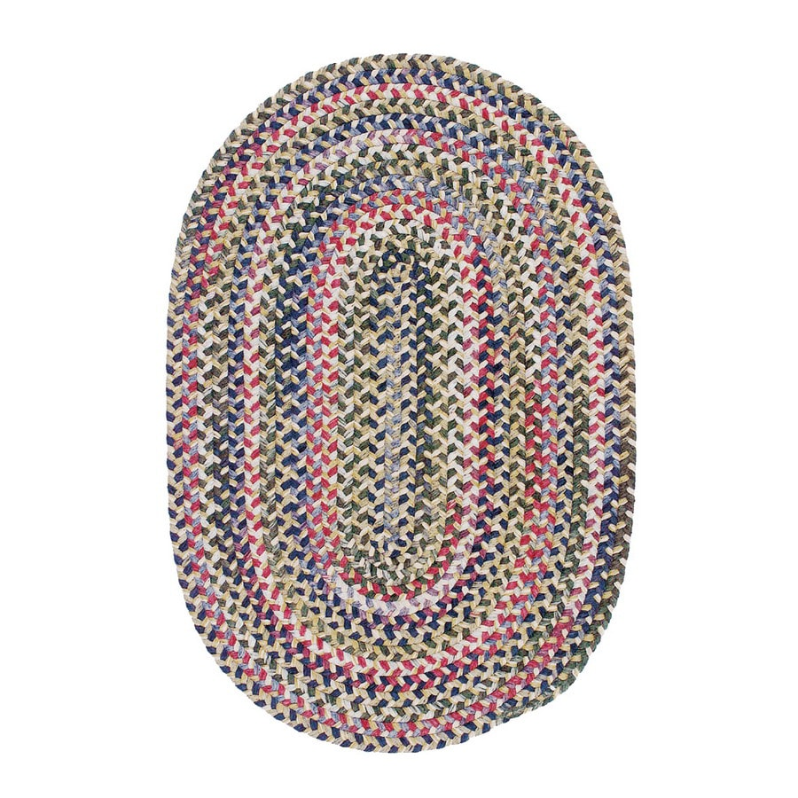 Colonial Mills Chestnut Knoll Round Multicolor Transitional Area Rug (Common: 10-ft x 10-ft; Actual: 10-ft x 10-ft)