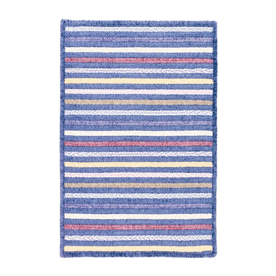 Colonial Mills Seascape Rectangular Multicolor Geometric Area Rug (Common: 10-ft x 13-ft; Actual: 10-ft x 13-ft)