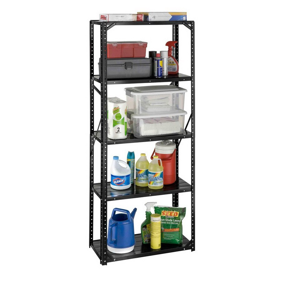 International Tool Storage 72-in H x 30-in W x 15-in D 5-Tier Steel Freestanding Shelving Unit